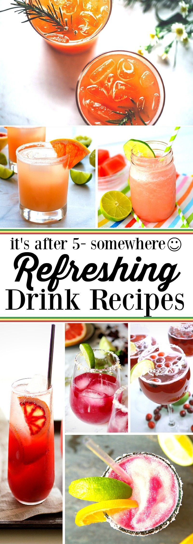 After 5 drink recipes