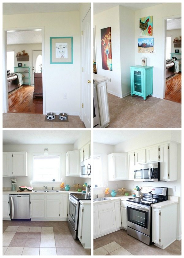 Cottage Kitchen Makeover Bright and Fresh