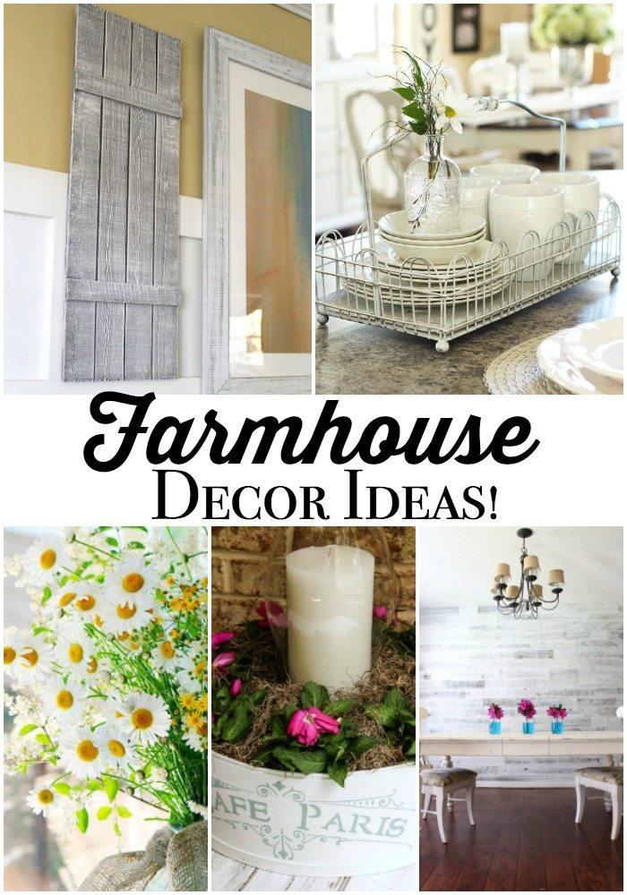 Farmhouse Decor Ideas at Refresh Restyle