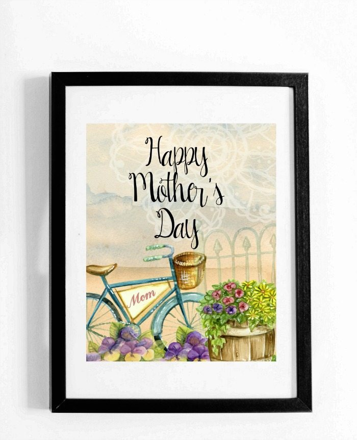 Mother's Day Print, Cards and Gift Tags