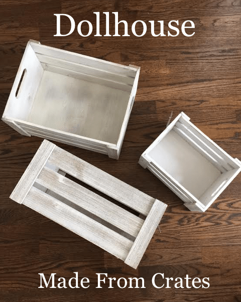 How to make a Dollhouse with Crates