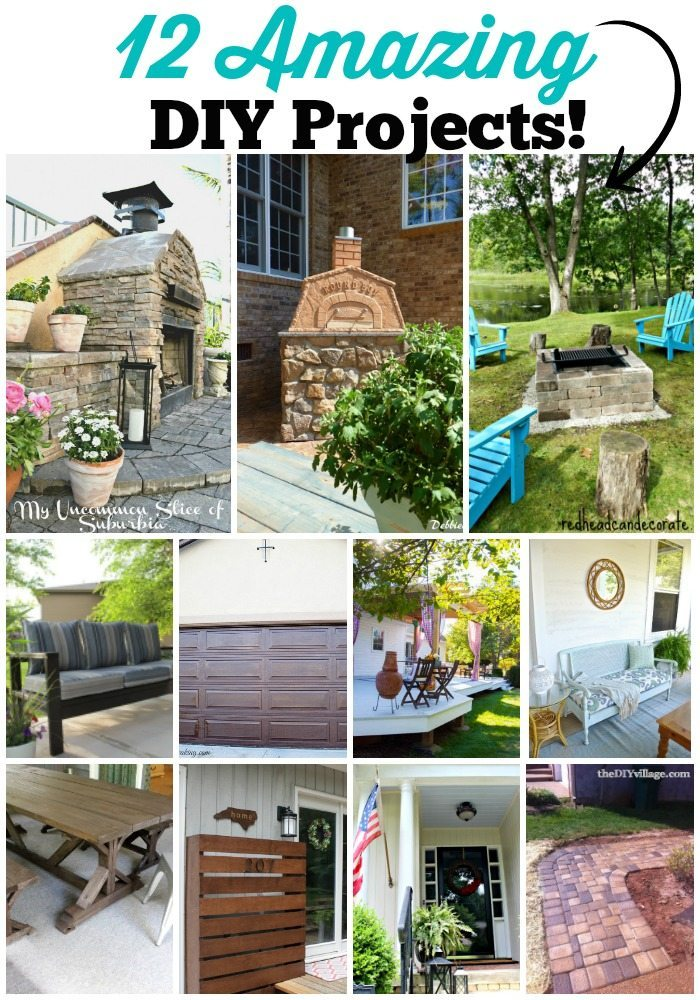 12 amazing do it yourself projects for your yard and garden - be inspired to create a space you will love at Refresh Restyle