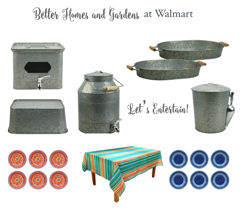 Better Homes and Gardens summer entertaining at Walmart see the patio refresh at Refresh Restyle