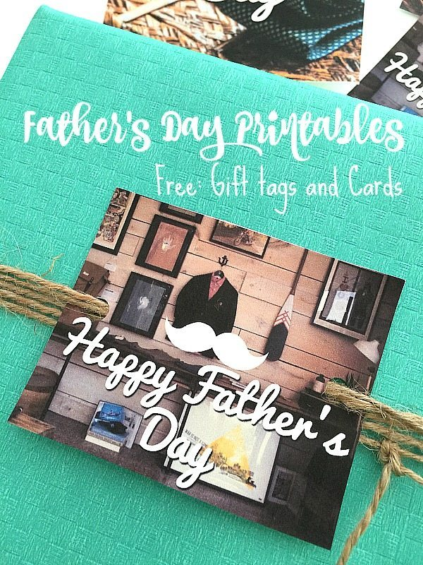 Free gift tags and cards for Father's Day at Refresh Restyle