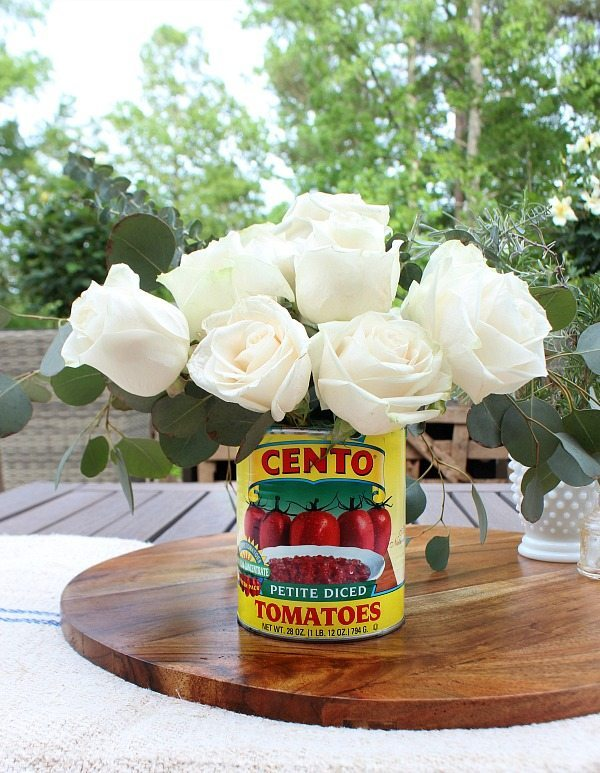 Ideas for flower arrangement - great for a farmhouse look at Refresh Restyle