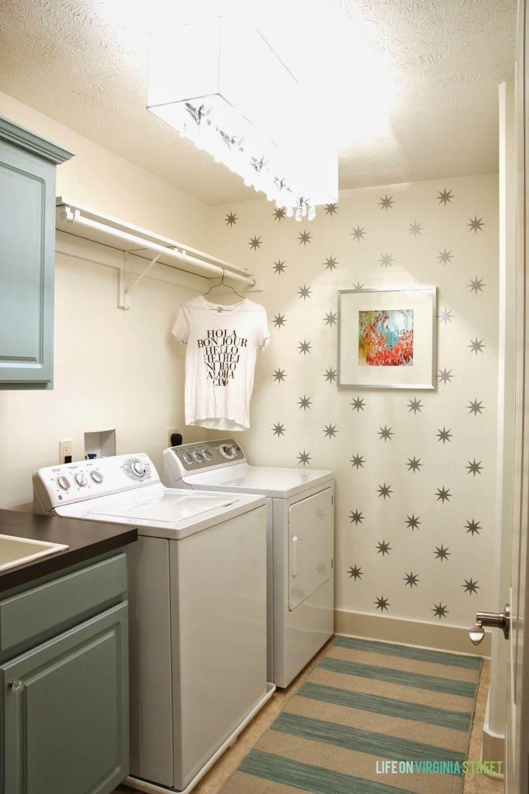 30 laundry room makeover ideas refresh restyle - Laundry room wall ideas ...