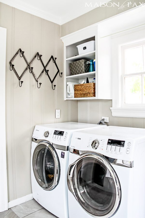 Maison Depax Bright-White-Laundry-Room-wall-storage