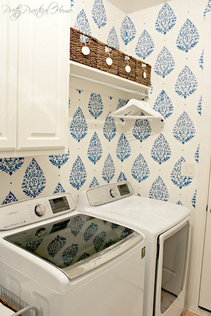 Pretty Practical Home laundry12