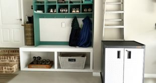 Stylish storage - Time to get organized in the garage or shop with my Super Hero - Gladiator GarageWorks # ad #springkeeping