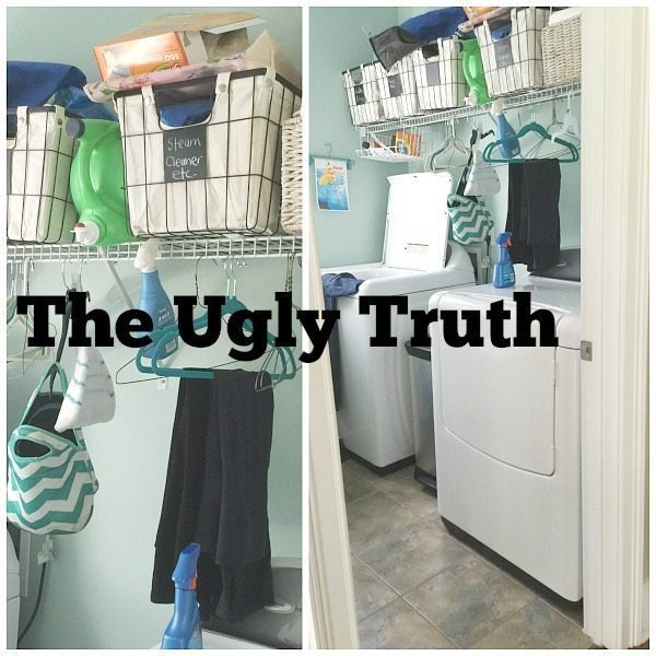 The ugly truth about the laundry room at Refresh Restyle