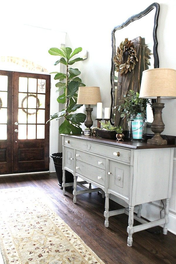 All about nature for summer decor