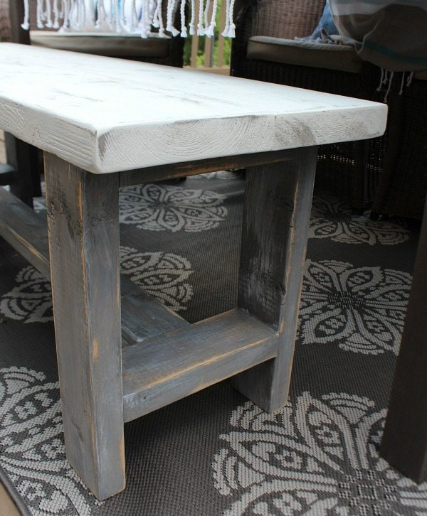 Farmhouse Bench Building Plans Refresh Restyle