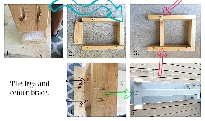 Construct a bench - Farmhouse bench plans at RefreshRestyle.com