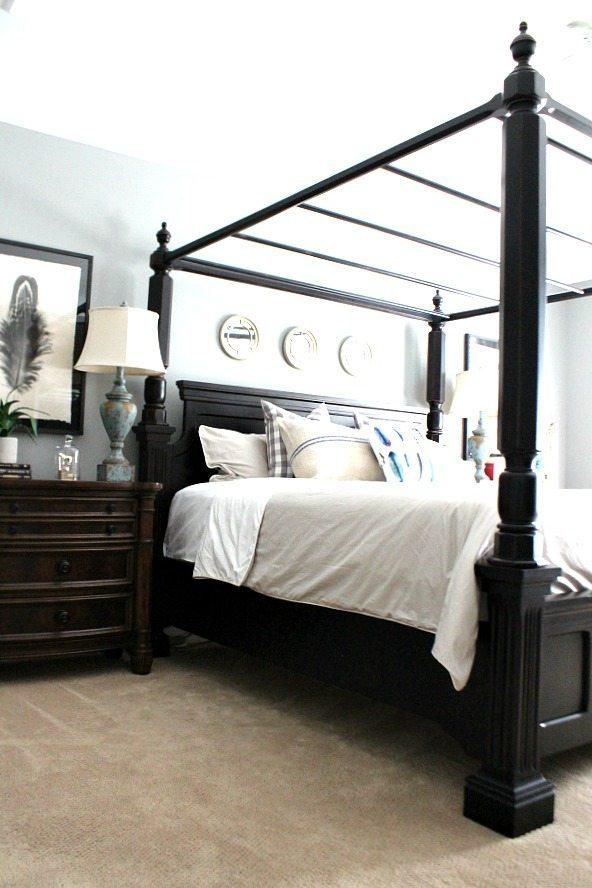 Master bedroom at RefreshRestyle.com
