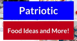 Patriotic Food Ideas