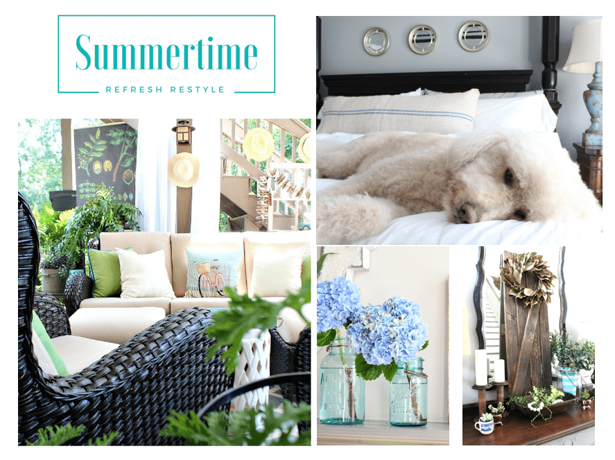 Summer home tour at RefreshRestyle.com
