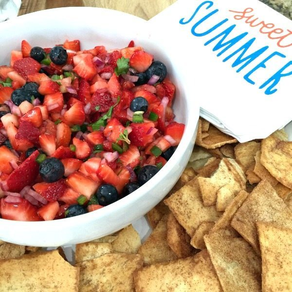Strawberry Blueberry Salsa
