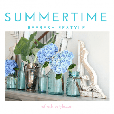 Summertime at Refresh Restyle Summer Home Tour