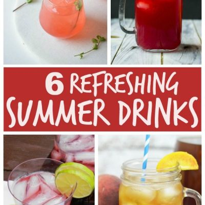 Cold Refreshing Drinks + Inspiration Monday