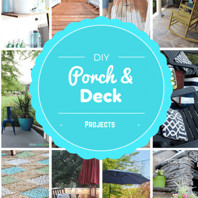 DIY Porch + Deck Projects