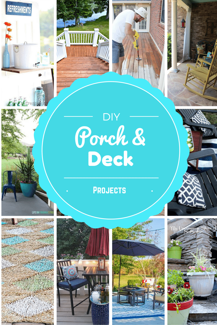 DIY Porch and Deck Ideas