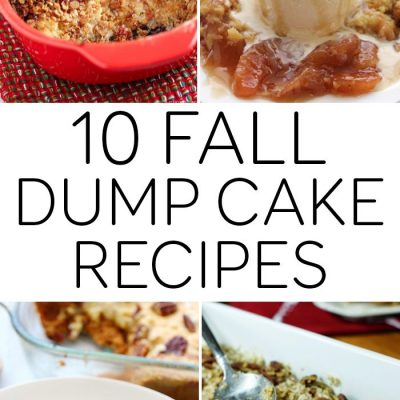 10 Fall Dump Cake Recipes