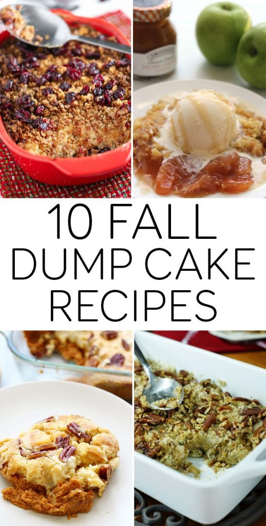 10 Fall Dump Cake Recipes | Refresh Restyle