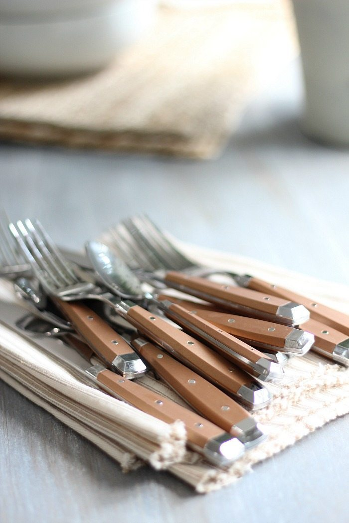 Better Homes and Gardens at Walmart Copper Flatware