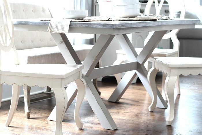 Farmhouse table makeover - Better Homes and Gardens Maddox Crossing Dining Table