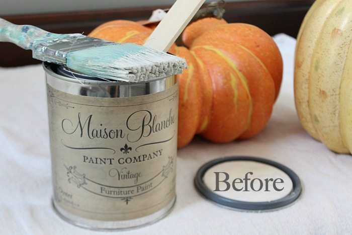 How to paint a faux pumpkin