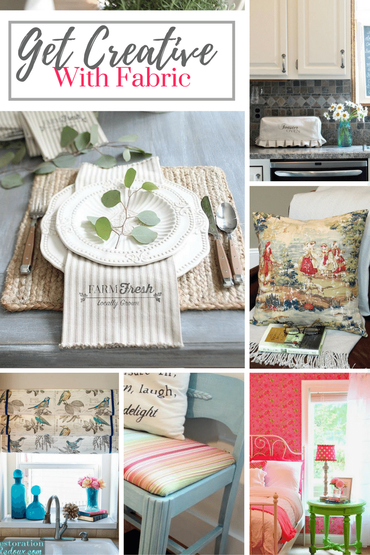 One Yard of Fabric DIY Projects that you can do!