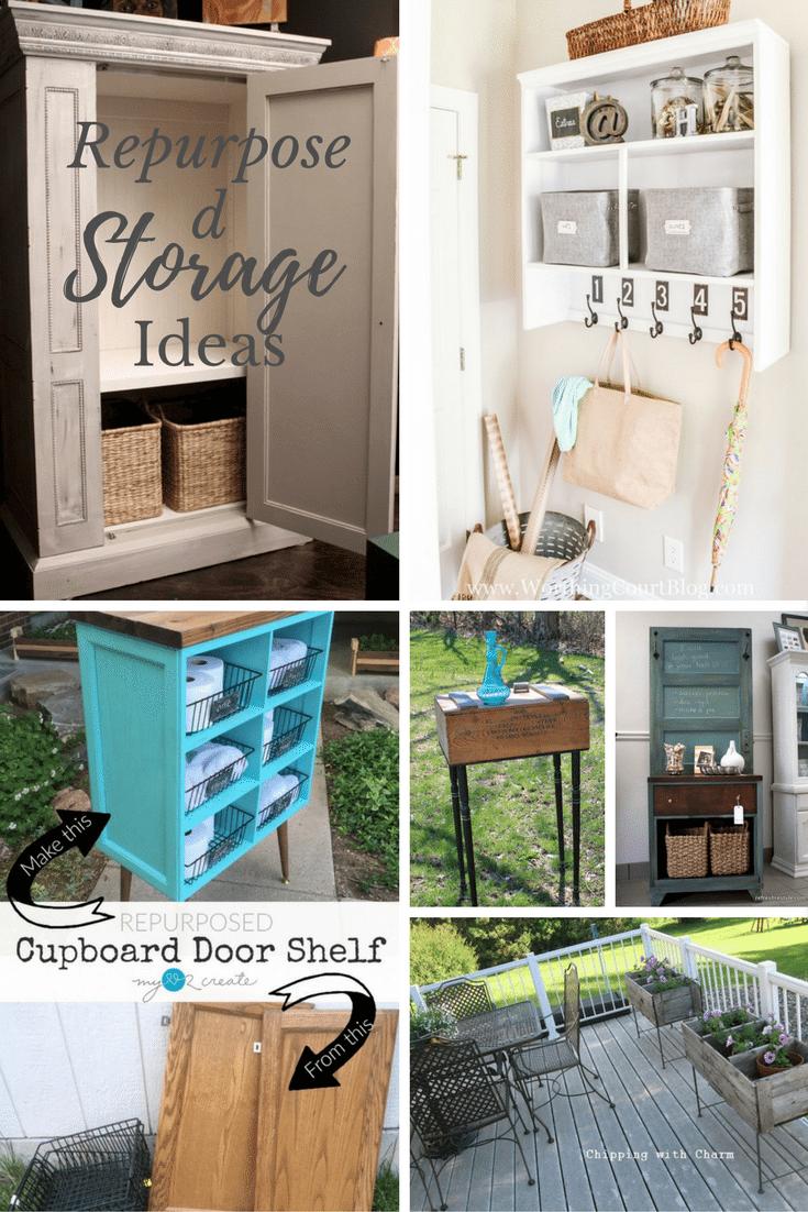 Repurposed Storage Ideas