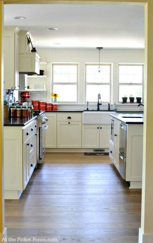 At the Picket Fence Kitchen Makeover, White Kitchen Ideas