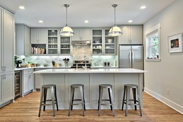 Avenue B Development, Gray Kitchen Ideas