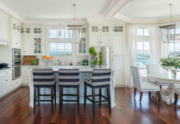 Bungalow Blue Interiors Kitchen, White Kitchen Ideas