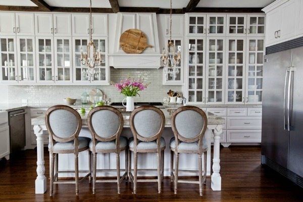 Cedar Hill Farmhouse, White Kitchen Ideas