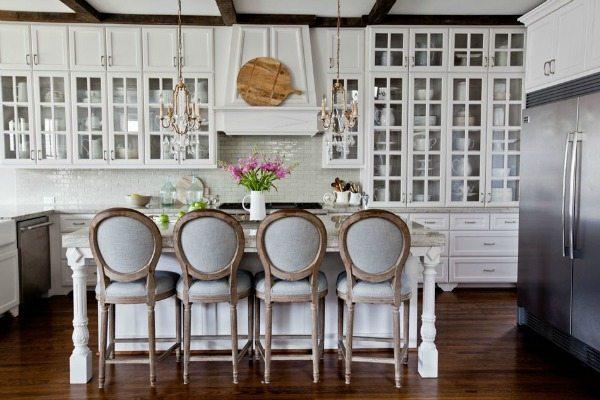 Cedar Hill Farmhouse, White Kitchen Ideas