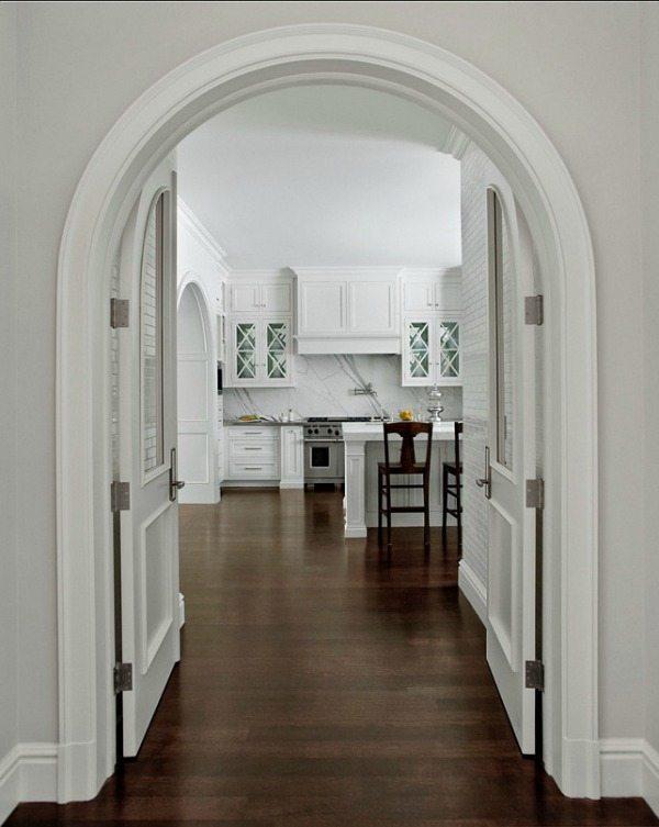 Custom Doors via HomeBunch, White Kitchen Ideas