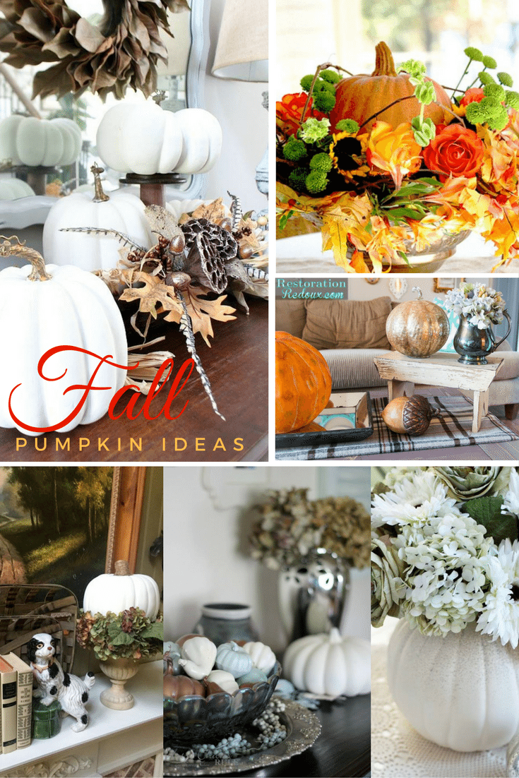 Fall Pumpkin Ideas - Faux Pumpkin Perfect for any decor