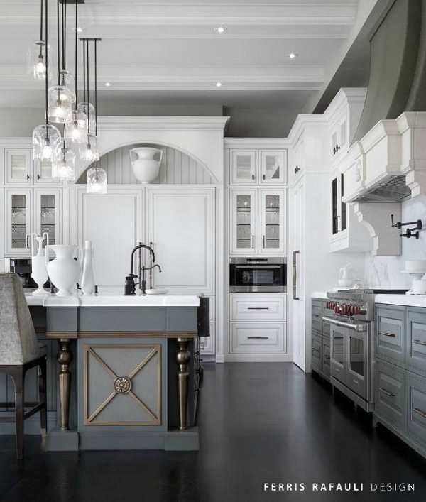 Gray kitchen ideas refresh restyle for Black and grey kitchen ideas
