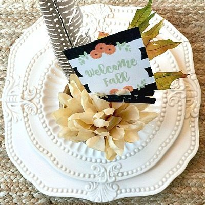 Welcome Fall + 35 Free Printables