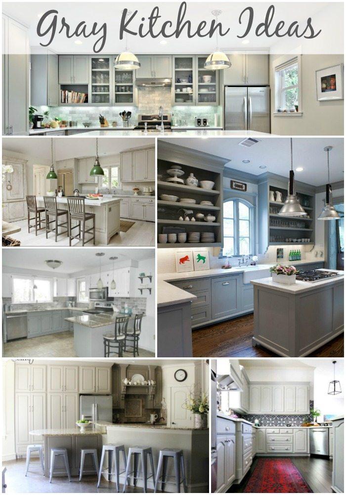 Gray Kitchen Ideas via Refresh Restyle