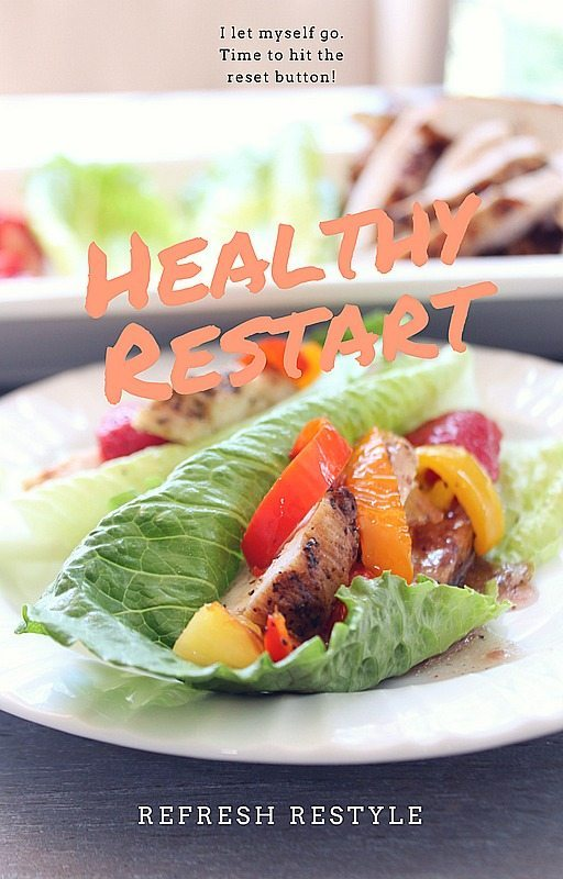 Grilled Chicken Lettuce Wrap Recipe with pineapple - strawberry - Healthy Restart