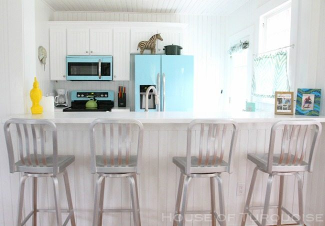 Jane Coslick, Turquoise and Aqua Kitchen Ideas
