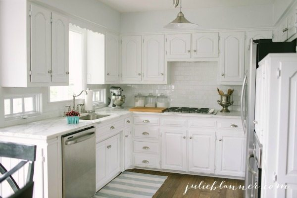 Julie Blanner Traditional White Kitchen, White Kitchen Ideas