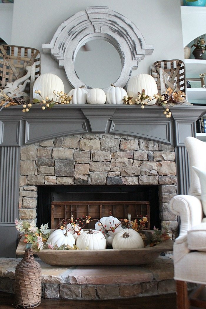 neutral-fall-mantel-idea-with-white-pumpkins-and-a-huge-dough-bowl-at-refresh-restyle