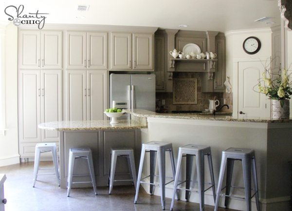 Shanty 2 Chic, Gray Kitchen Ideas