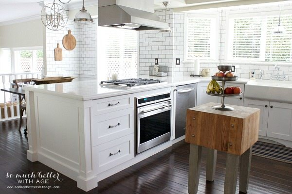 So Much Better With Age, White Kitchen Ideas