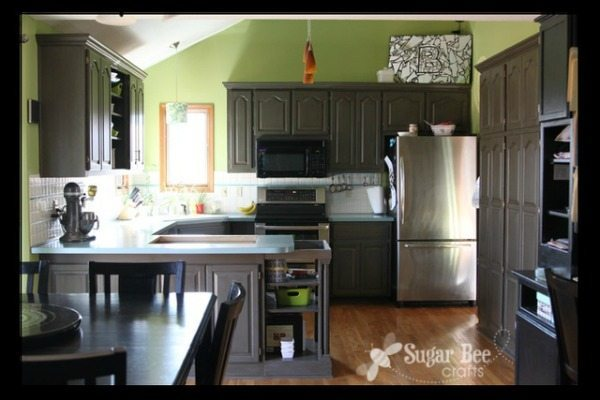 Sugar Bee Crafts, Gray Kitchen Ideas