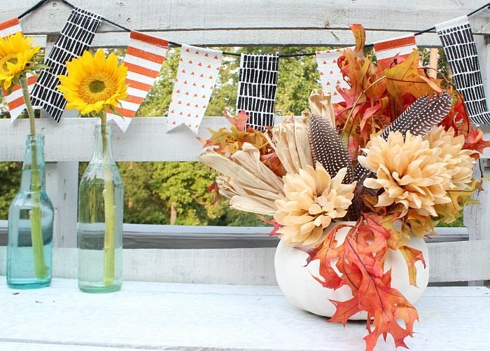sunflowers-feathers-and-fall-leaves